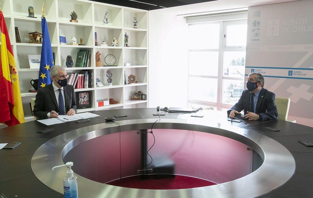 Cluergal pone en valor el sector energético ante la Xunta de Galicia