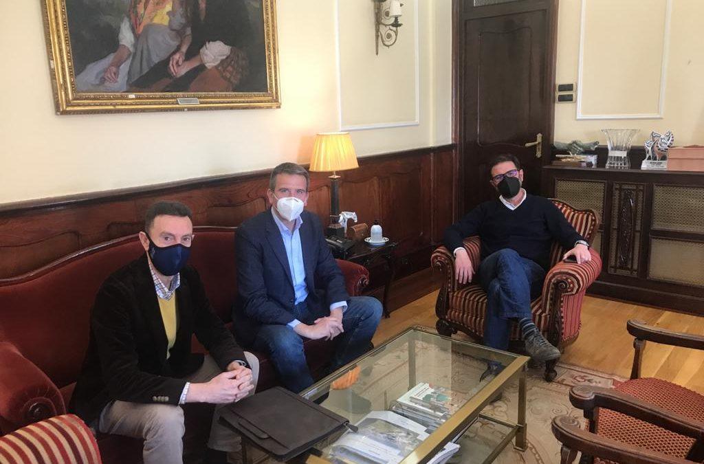 Reunión de Cluergal con Ángel Mato, alcalde de Ferrol