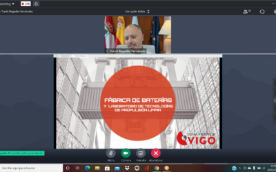 Webinar sobre la MDI de la fábrica de baterías de Zona Franca de Vigo