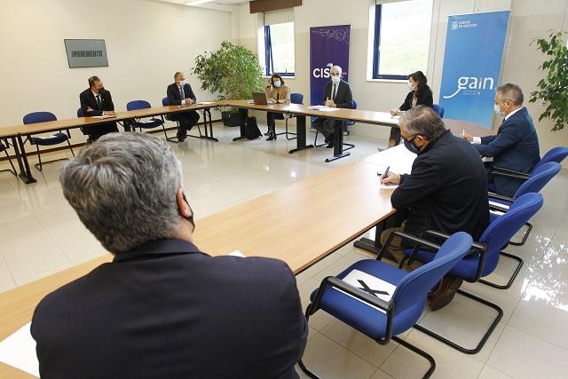 Encuentro en CIS Galicia con el vicepresidente económico de la Xunta