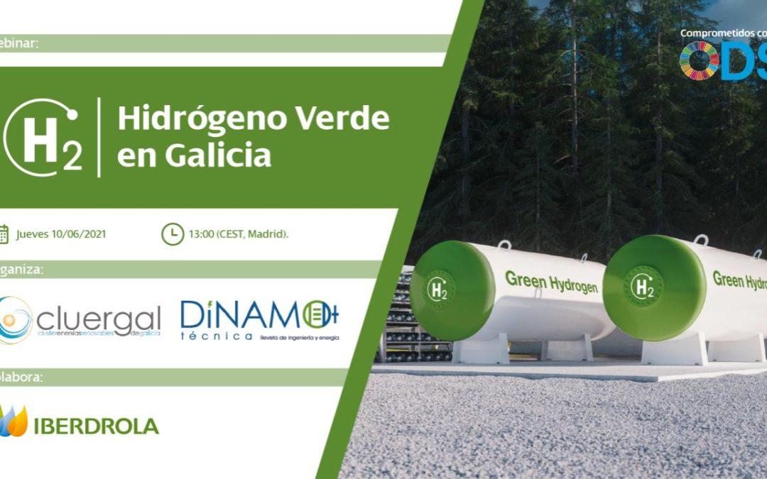 Webinar: Hidrógeno verde en Galicia