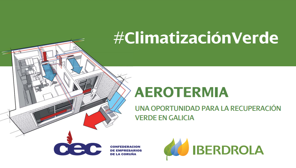 Aerotermia: oportunidad para la recuperación verde en Galicia